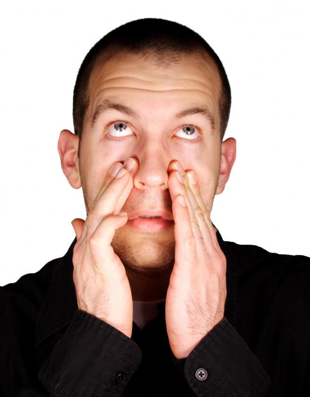 Aniseed oil can help relive nasal congestion.