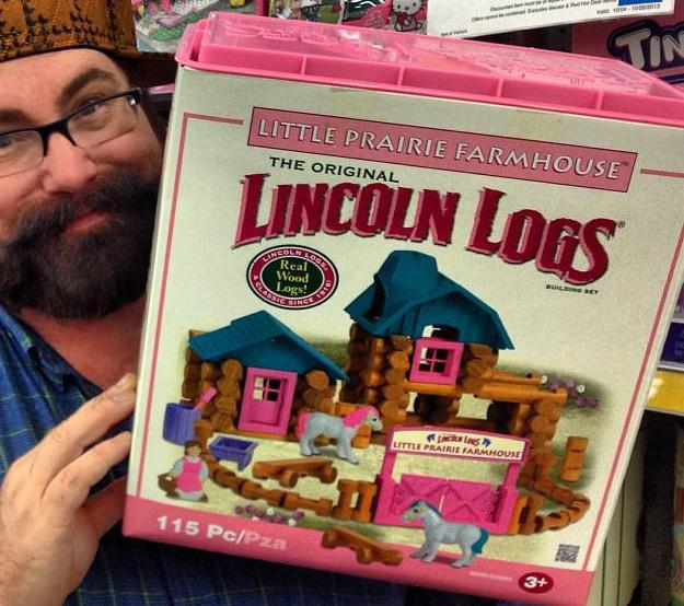 Lincoln Logs® were patented by John L. Wright in 1920.
