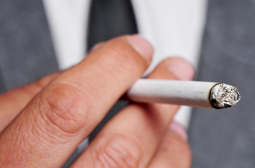 Smoking is a risk factor for developing squamous cell carcinoma.