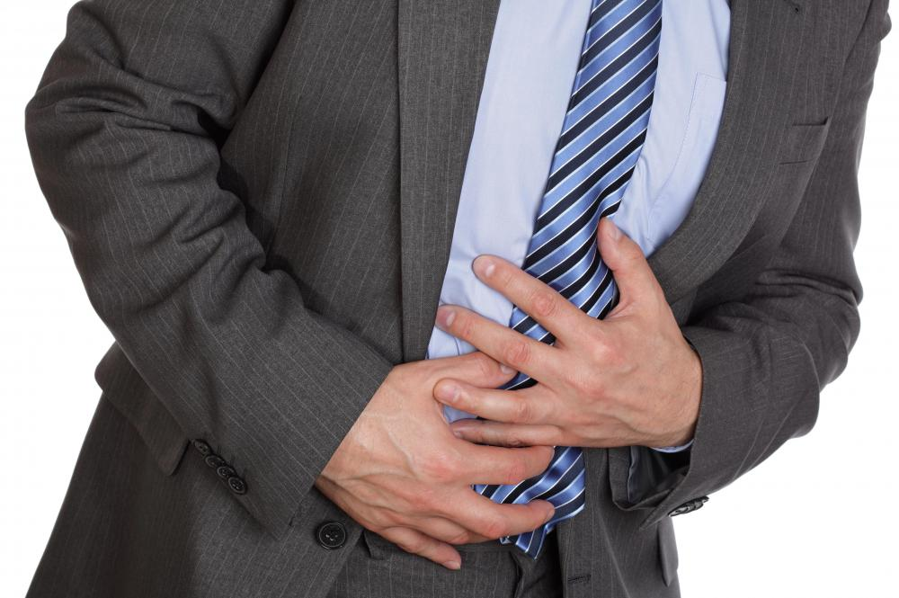 Excess gas can cause abdominal pain.