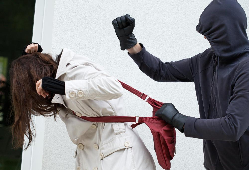 Assault charges may be harsher if the attacker is engaged in another crime during the attack, like a mugging.