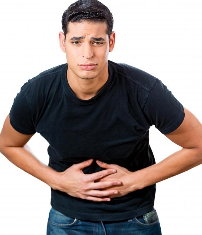 Symptoms of diverticulitis may include abdominal pain.