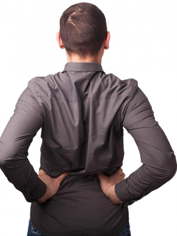 Individuals suffering from facet arthropathy may have difficulty bending backward at the waist.