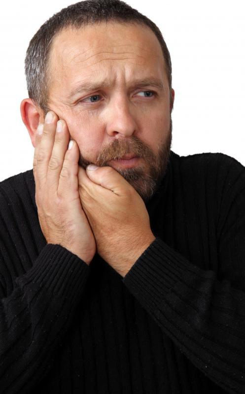 Jaw pain may occur when the trigeminal nerve is compromised in some manner.