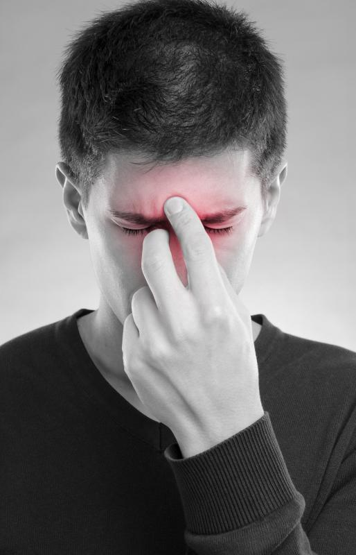 Many flu viruses are prone to causing secondary infections like sinus infections.