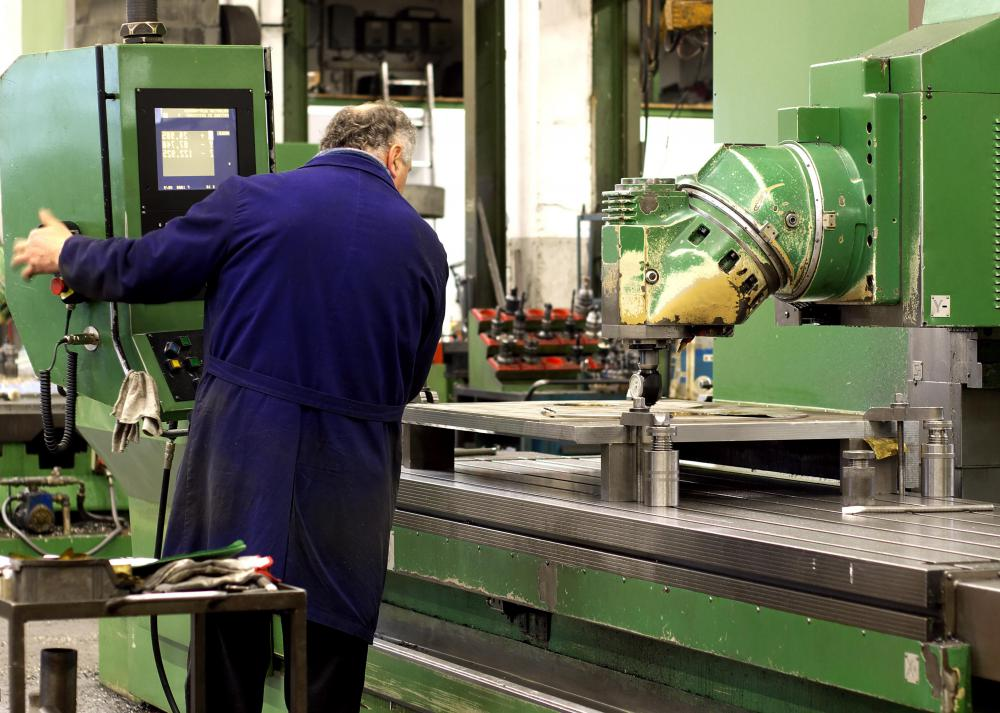 Maintenance tests may be used on various pieces of industrial machinery as a part of regular servicing.