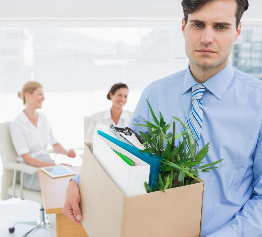 If a worker fails to carry out the duties of his job description, he may be fired.