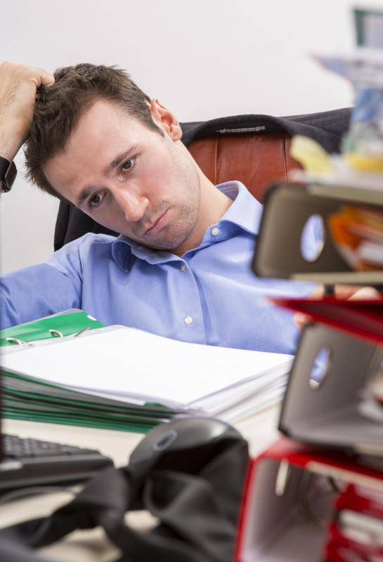 A vocational specialist may help someone manage workplace stress.