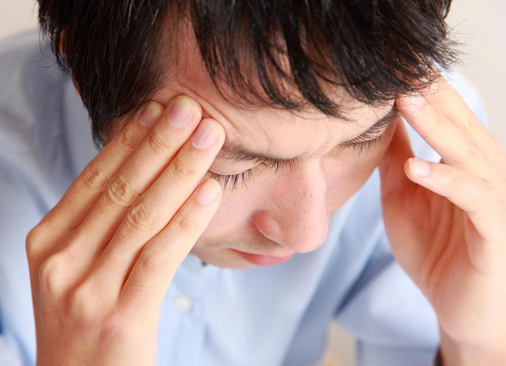 Late-stage testicular cancer can cause headaches.