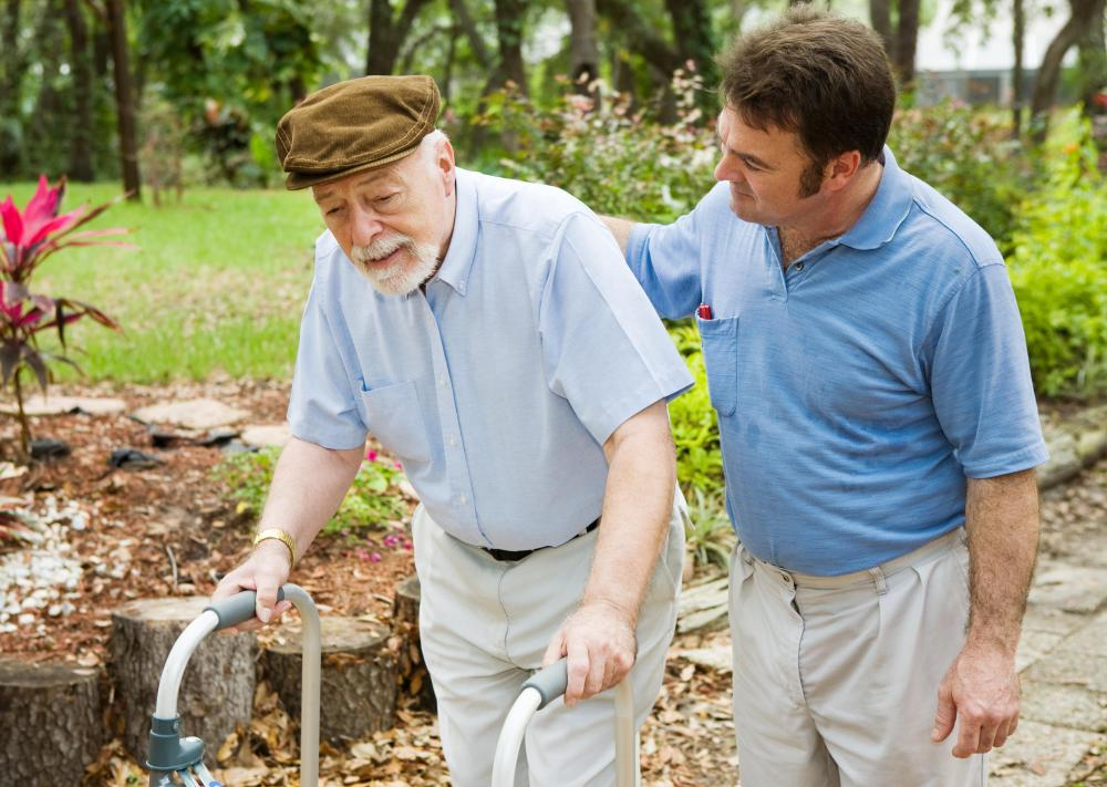 Home care may be very beneficial for an elderly person.