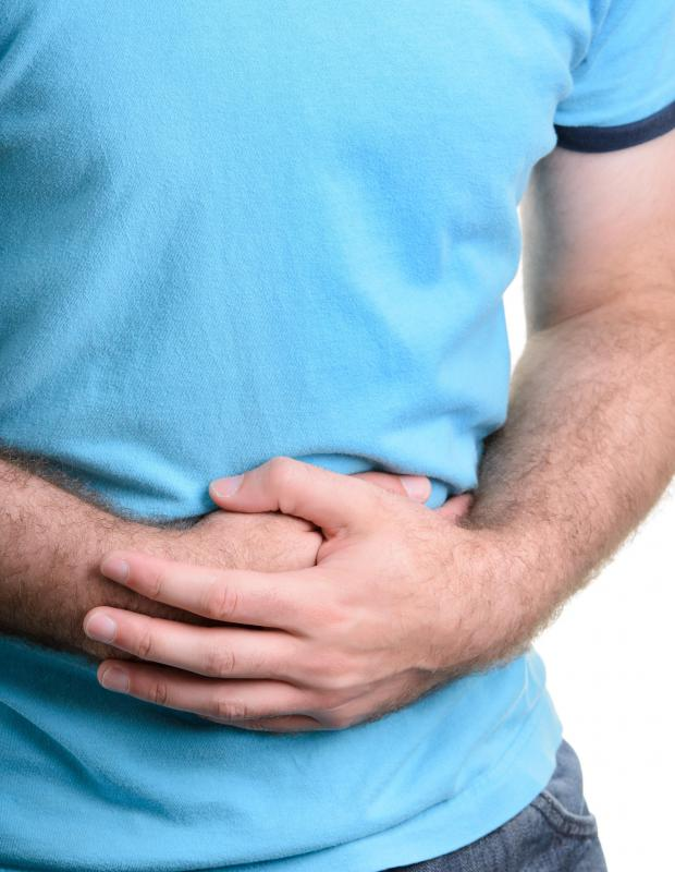Side effects of corticosteroids may include abdominal discomfort.