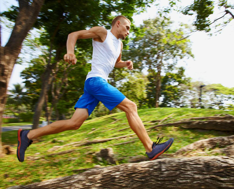 A runner may want proper groin support during an intense workout.