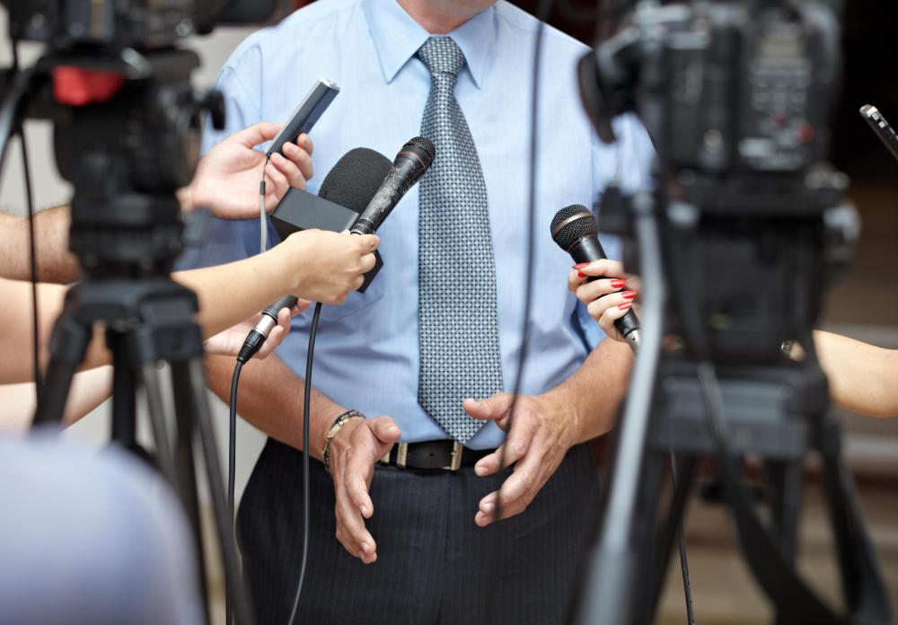 Public relations executives must build good relationships with the media.