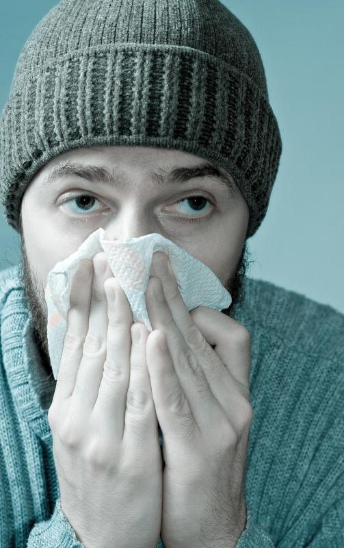 The typical flu season can kill about 500,000 people worldwide.