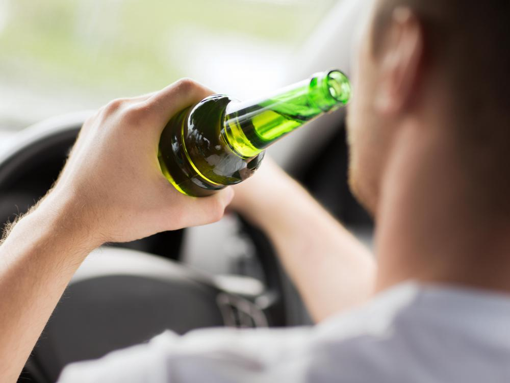 Alcohol can have a negative effect on one's ability to drive properly.