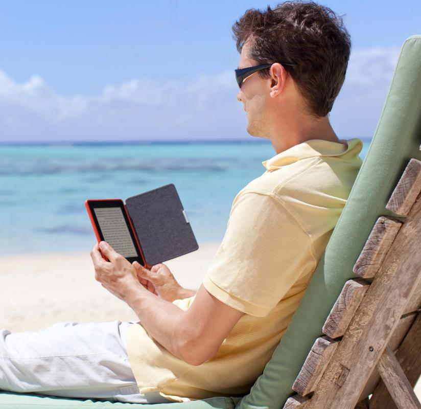 E-readers allow people to store many files in one small device, allowing for greater portability than traditional books.