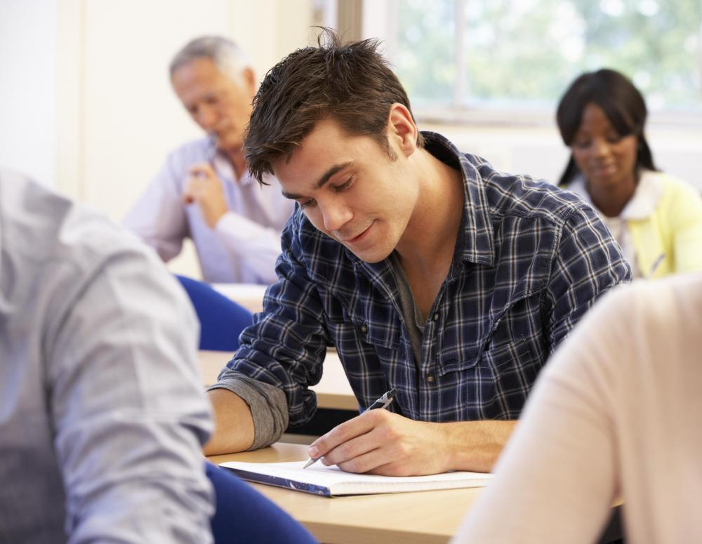 Experience teaching adult students may be helpful in becoming a GED instructor.