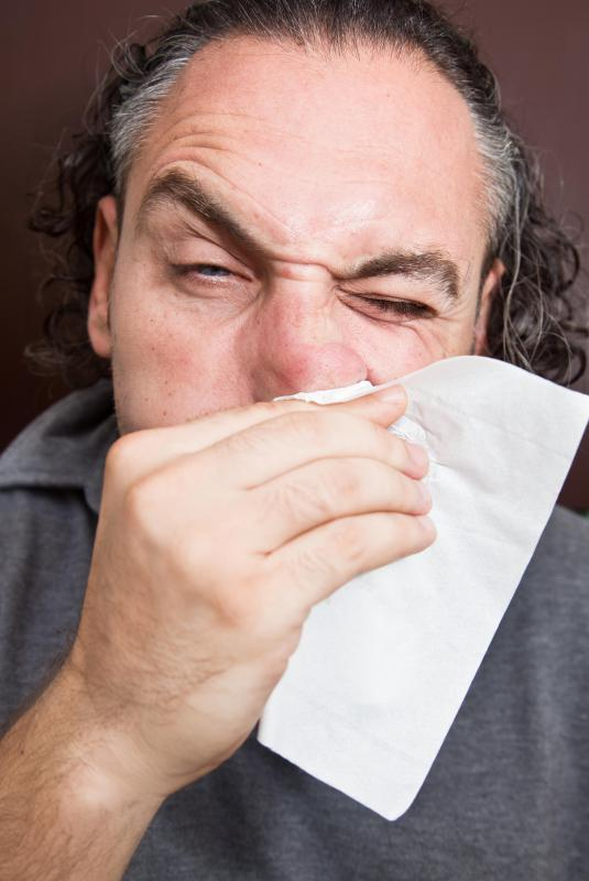 People who are exposed to mold often have sinus issues.