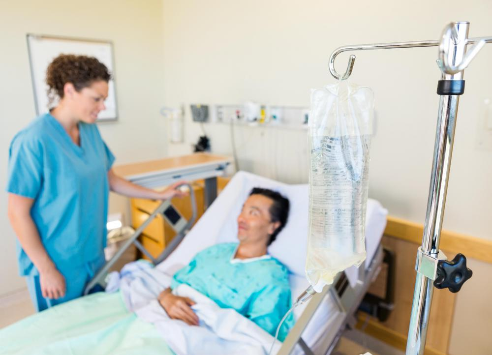 Treatment for acute enteritis may include rehydration in a hospital setting.