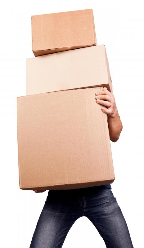 Packing and shipping costs are one of the major considerations when relocating a business.