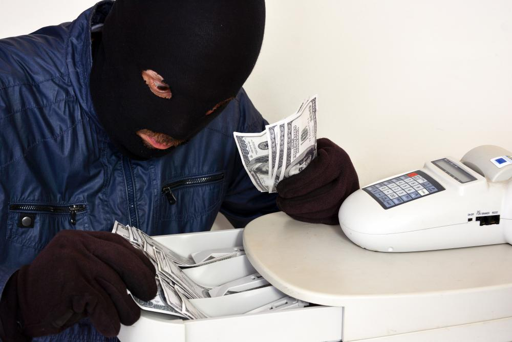 Robbery and burglary should not be confused with theft.
