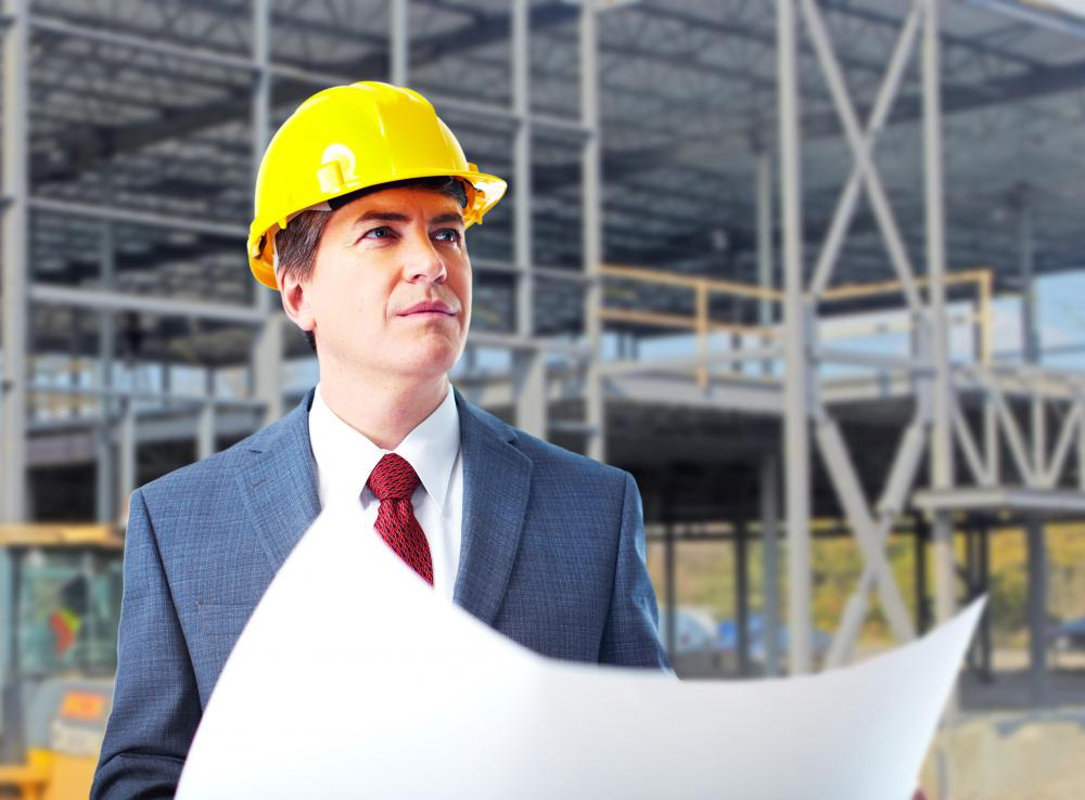 What is the typical organizational structure of a for Construction