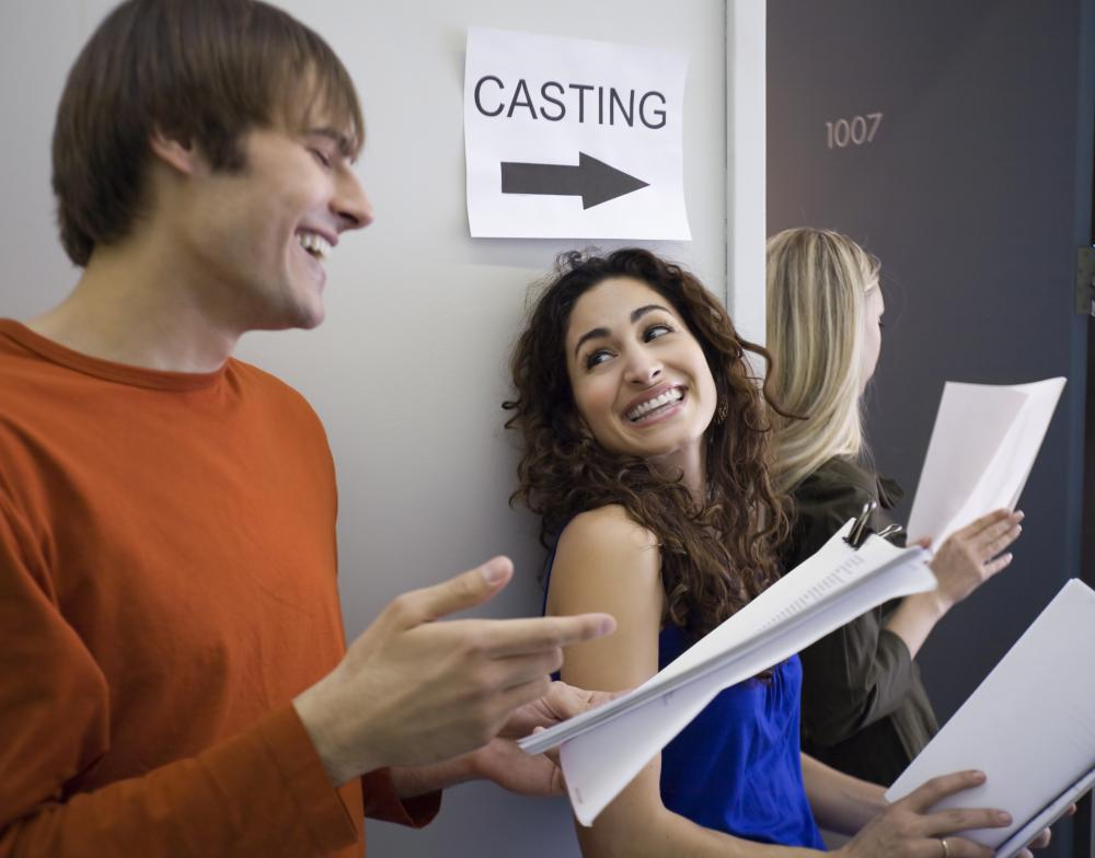 Agents find auditions for the talent they represent.