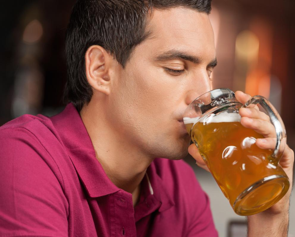 Excessive consumption of alcohol may cause rosacea flare-ups.