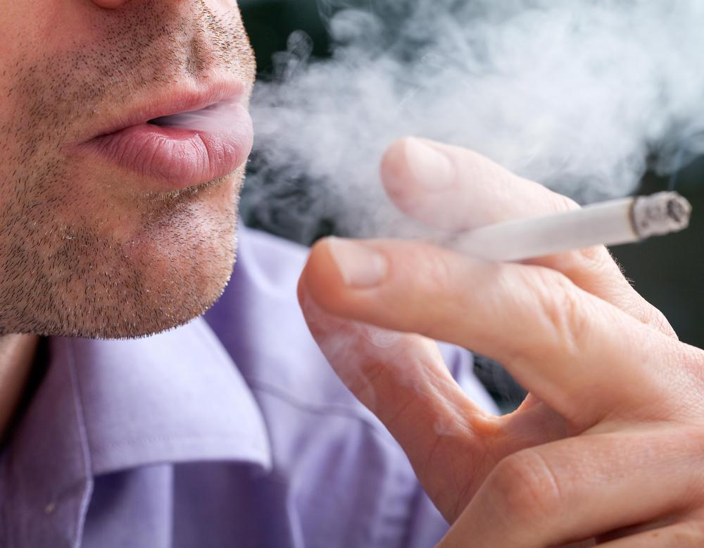 Bladder neoplasm may arise in a person who smokes.