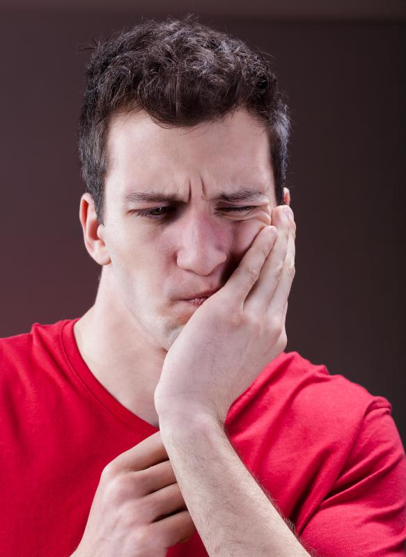 A tooth abscess can cause considerable pain and discomfort.