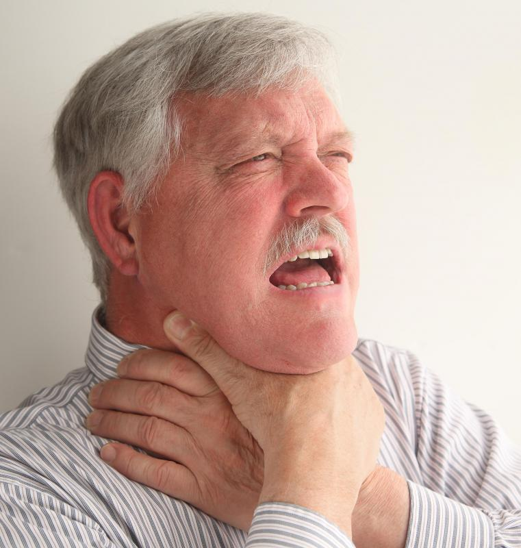 A person's swallowing reflexes are meant to prevent them from choking.