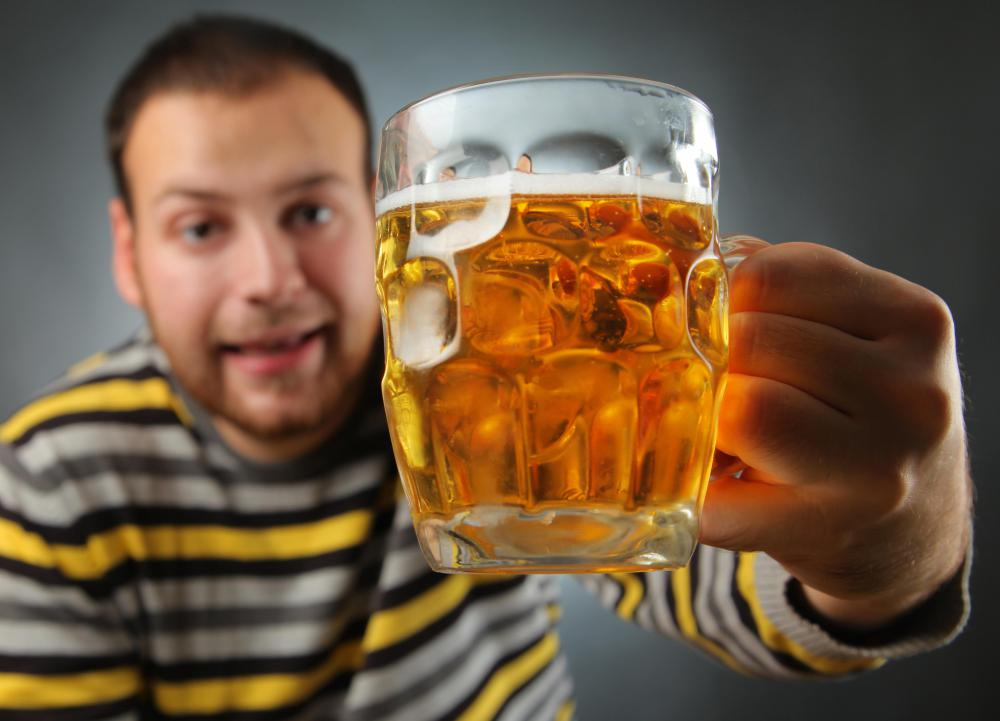 Drinking too much alcohol may cause liver disease.