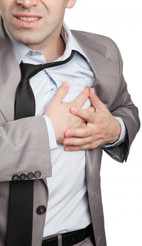 A sodium channel blocker drug may cause chest pain.