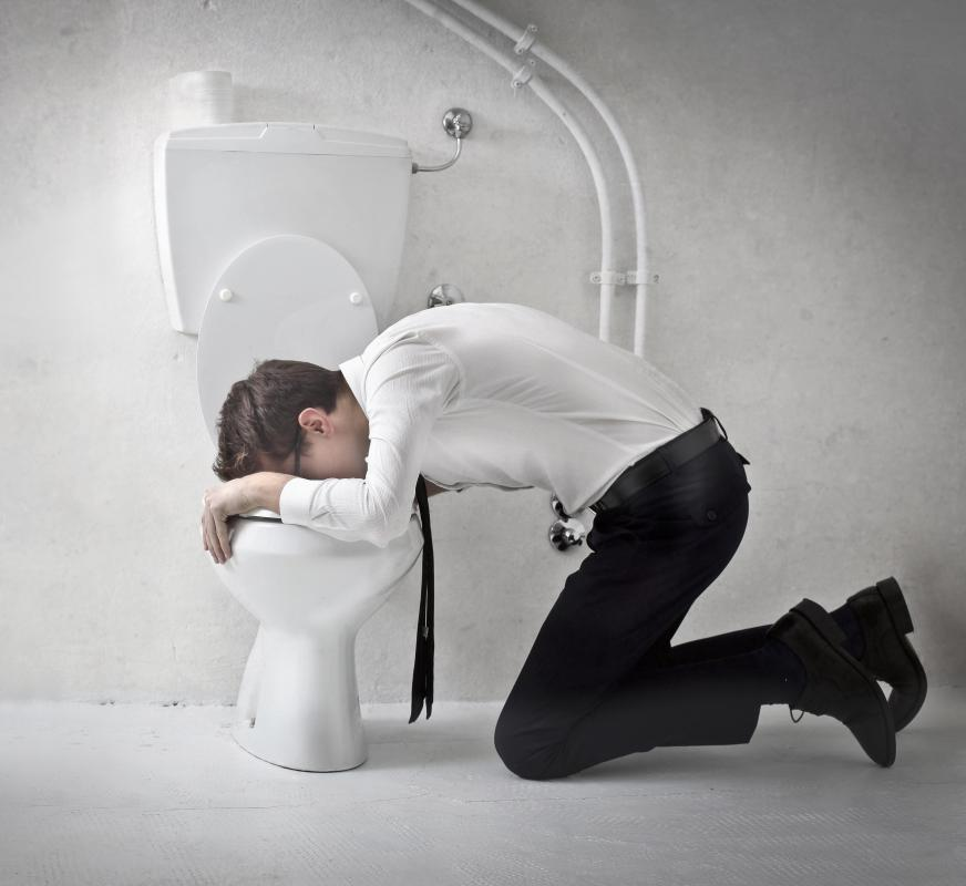 Nausea and vomiting may be part of a diverticulitis flare up.