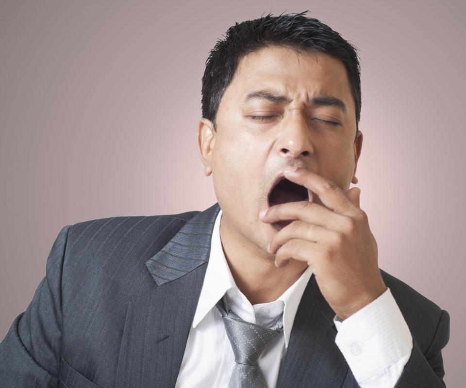 Frequent or abnormal yawning may be a sign of illness.