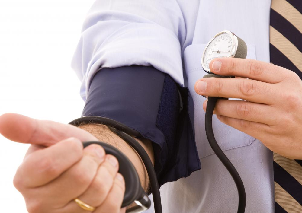 Low blood pressure may occur during prednisone withdrawal.