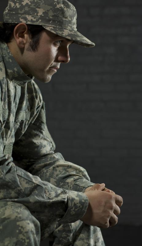 PTSD is an anxiety disorder that many soldiers face following a tour of duty.