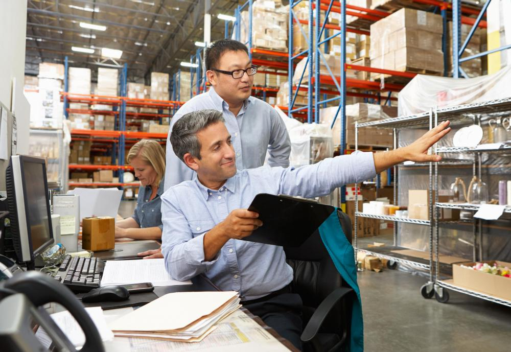 Warehouse supervisors must oversee a team of employees.