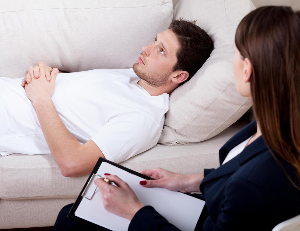 A licensed psychologist may conduct cognitive behavioral therapy on patients.