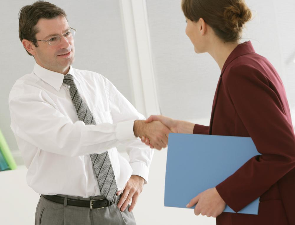 Human resources managers are often in charge of new employee recruitment.