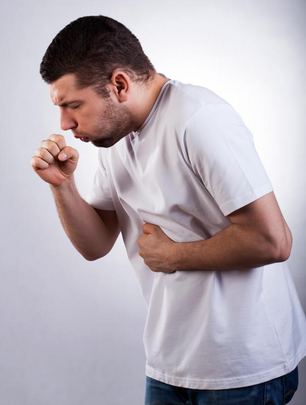 Persistent coughing and shortness of breath may accompany ascites.