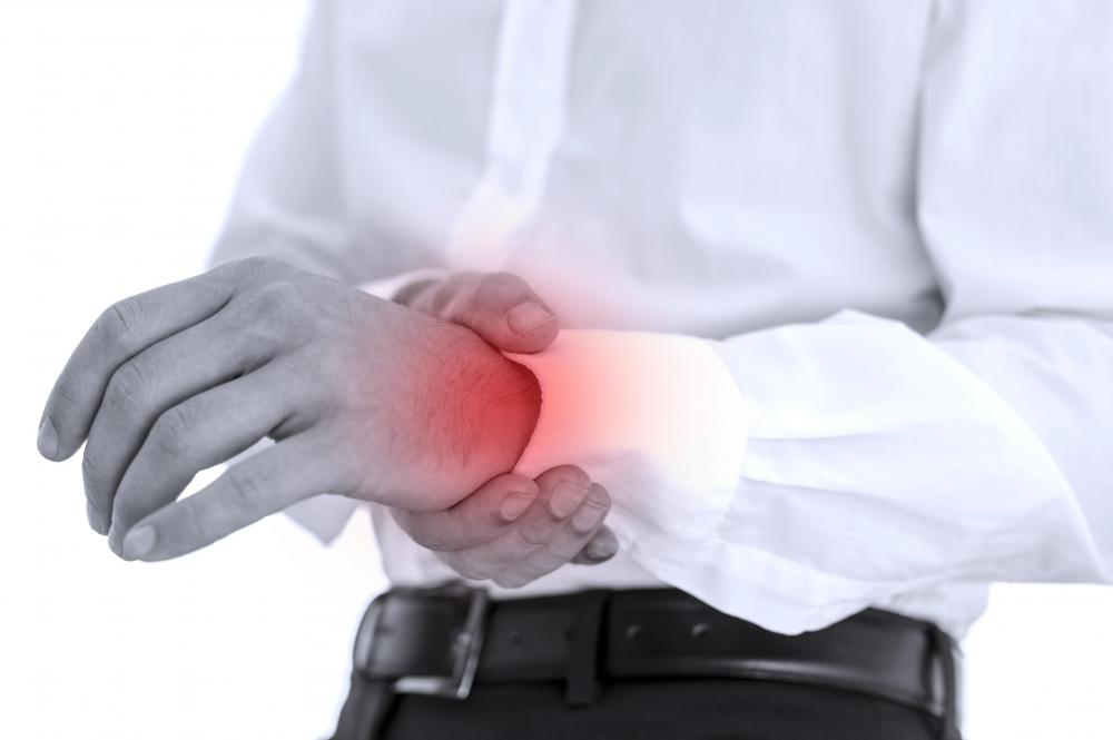 A wrist sprain may occur for a variety of reasons.