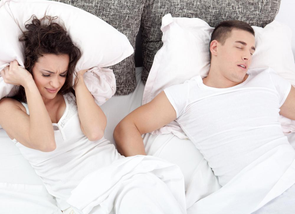 People with sleeping problems like snoring can attend a sleep center for an assessment.