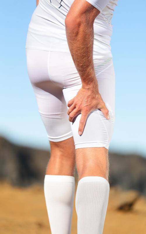 Hamstring injuries can occur with excessive training.