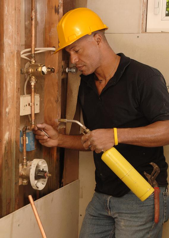 Unlike a plumber, a pipefitter can fabricate pipes, as well as install and maintain them.