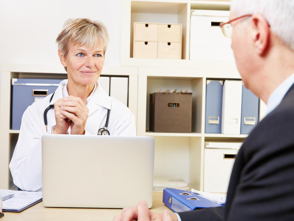 A doctor who suspects that a patient is experiencing a genetic problem may refer that patient to a clinical geneticist.