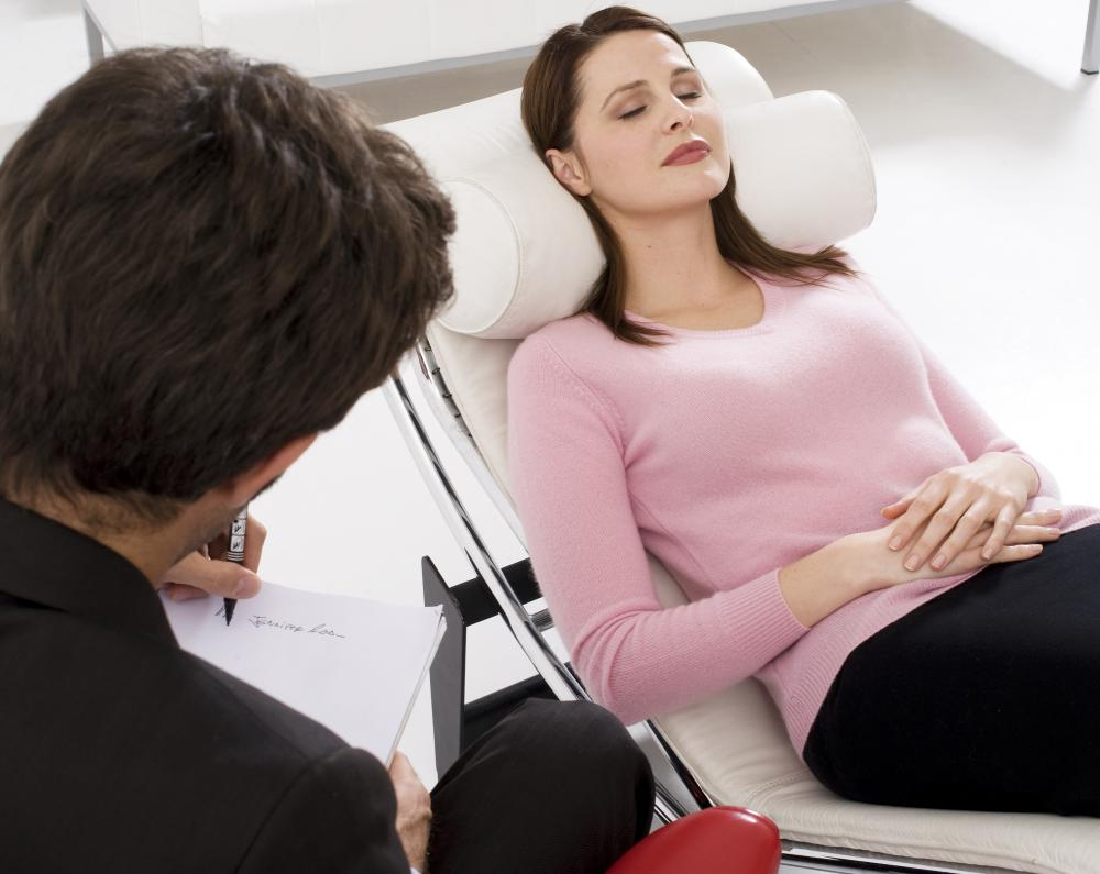 Therapeutic procedures may incorporate psychotherapy.