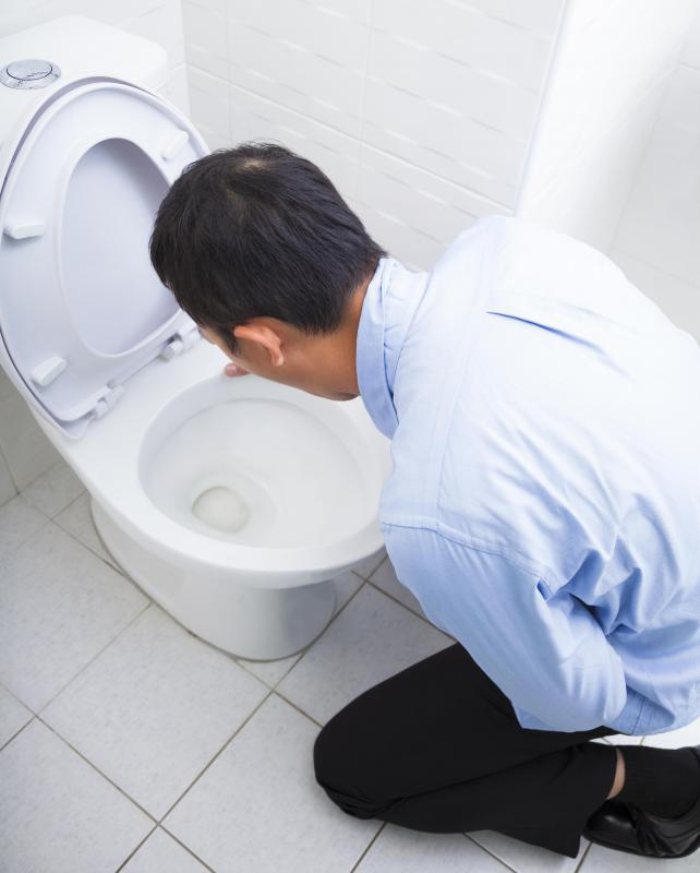 Food poisoning typically leads to nausea and vomiting.