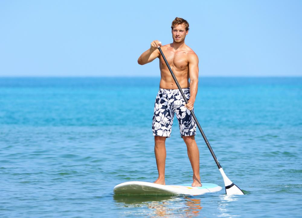 Standup paddleboarding may help improve balance, as the paddler must balance on an unstable surface.