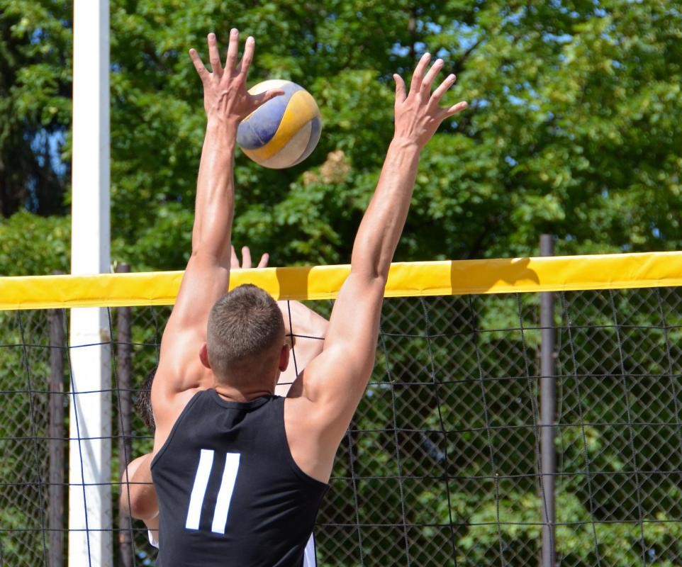 Some of the most common recreational therapy activities are sports like volleyball.